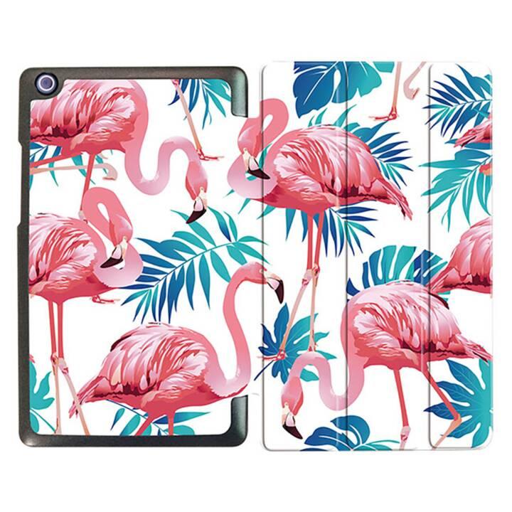 """EG MTT Tablet Tasche mit faltbarer Abdeckung für Lenovo Tab 2 Tab 3 8 """"- Flamingo"""