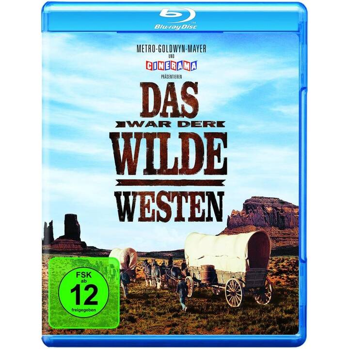 Das war der Wilde Westen (ES, IT, DE, EN, FR)