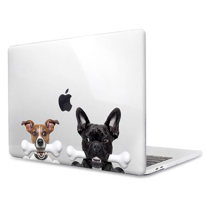 "EG MTT Laptop Cover für Macbook Pro 13"" Touch Bar - Hunde"