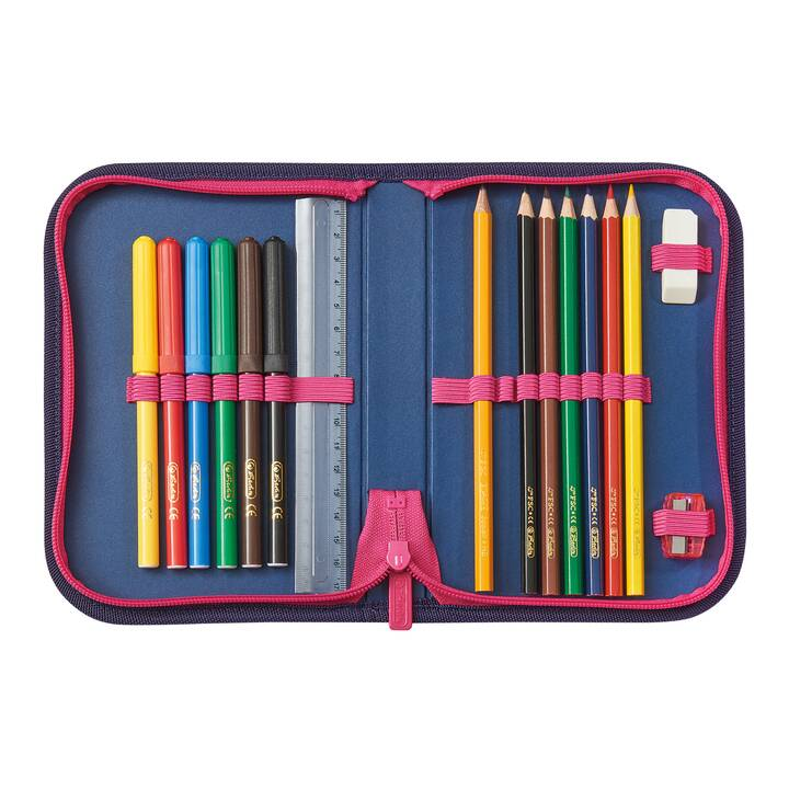HERLITZ Set di borse UltraLight Plus Stars (15 l, Pink, Viola)