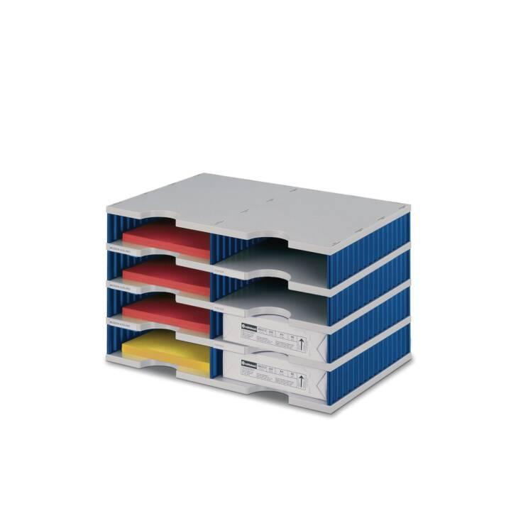 STYRO Standard Cassettiere (Grigio, Blu)