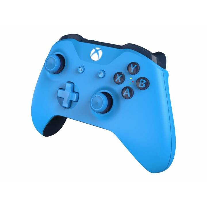 MICROSOFT Wireless Gamepad (Blau)