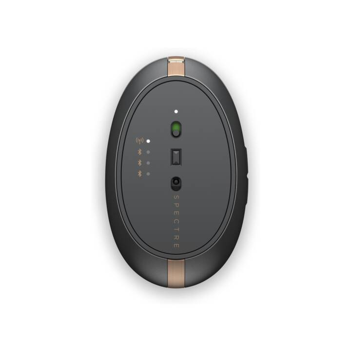 Souris HP Spectre 700 Bluetooth, noir, cuivre