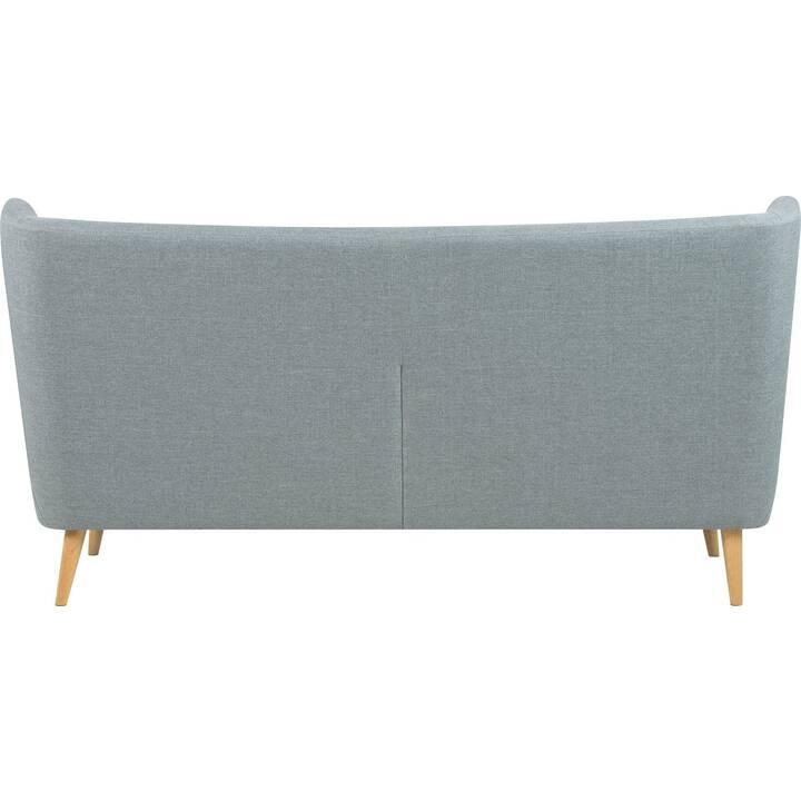 CREATIVE LIVING Leeds Sofa (Polyester, Hellgrau, 201 cm x 89 cm)