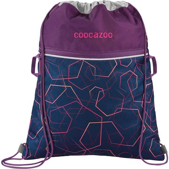 COOCAZOO Sac de gym RocketPocket2 Laserbeam (Violet)