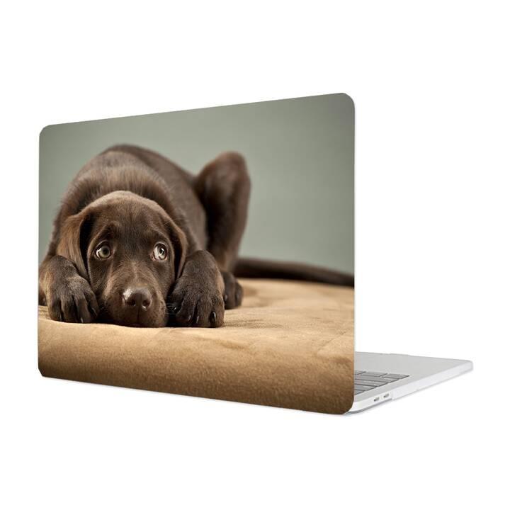 """EG Housse pour Macbook Pro 16"""" Touchbar (2019) - Chiens"""