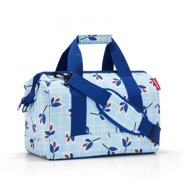 REISENTHEL Allrounder Leaves Blue Shopper (M, Polyester)