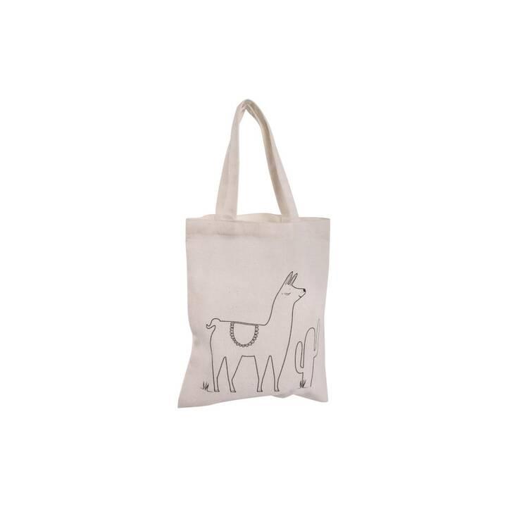 RAYHER Lama Shopper (Cotone, Poliestere, Viscosa)