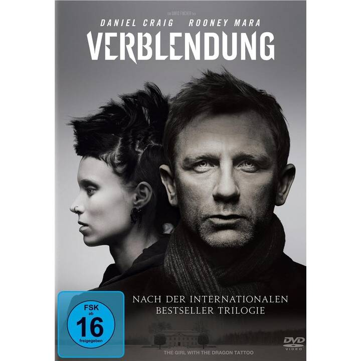Verblendung - The Girl with the Dragon Tattoo - Millenium (DE, EN)