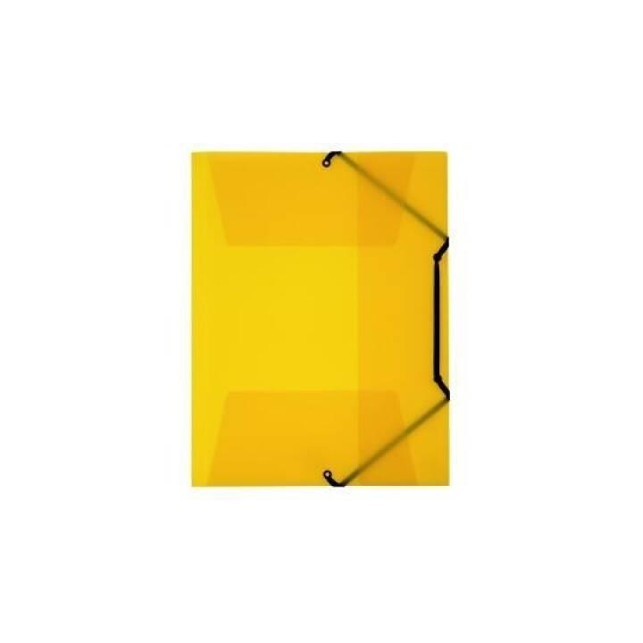 KOLMA RACER cartella elastica Penda Easy A4 giallo giallo