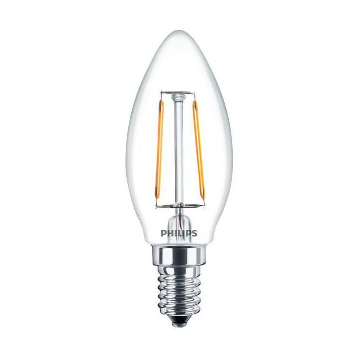 PHILIPS Classic Lampes (LED, E14, 2 W)