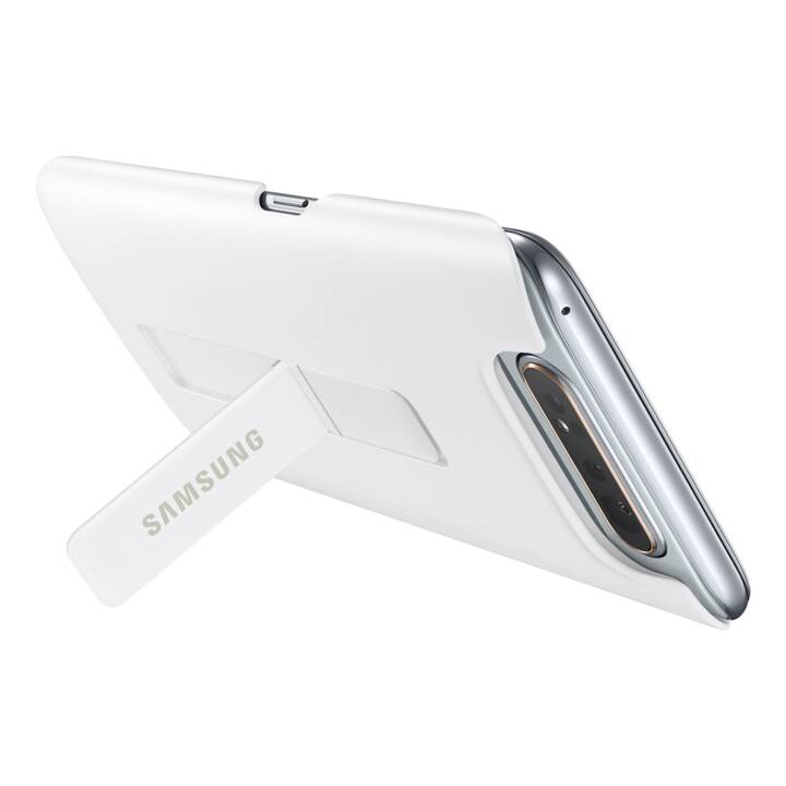 SAMSUNG Backcover Standing Cover  (Galaxy A80, Weiss)