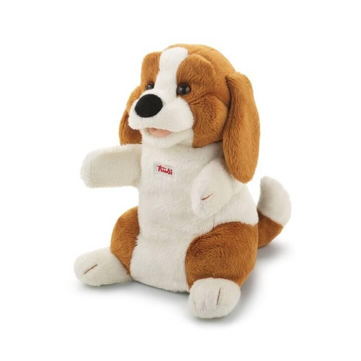 TRUDI Beagle (25 cm, Marrone, Bianco)