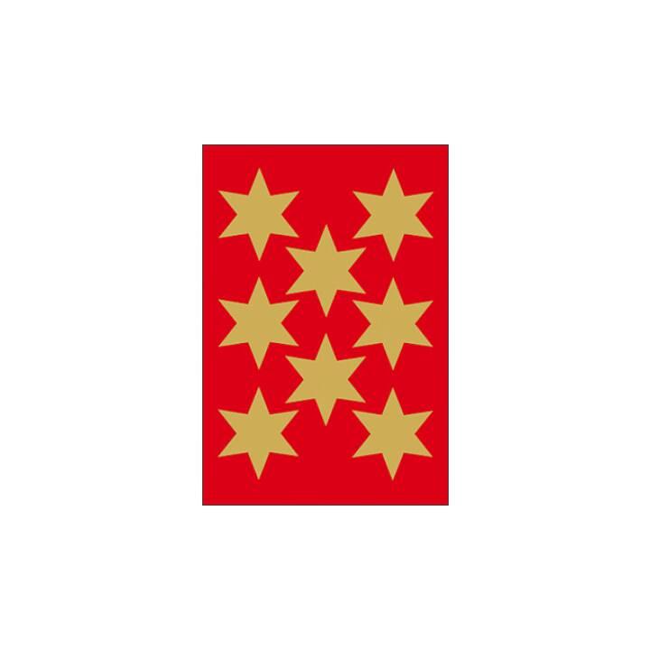 Etiquettes étoiles HERMA 33mm 3 pièces