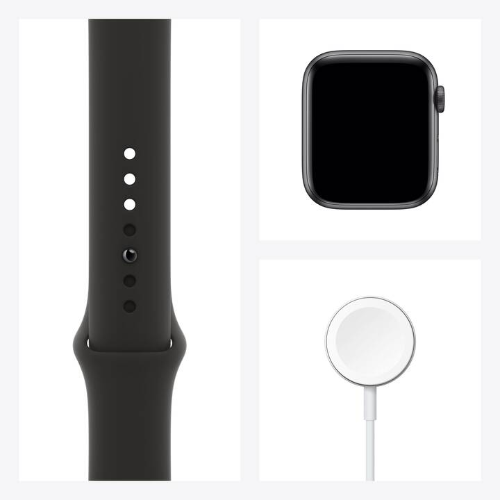 APPLE Watch Series 6 GPS (40 mm, Alluminio, Silicone)