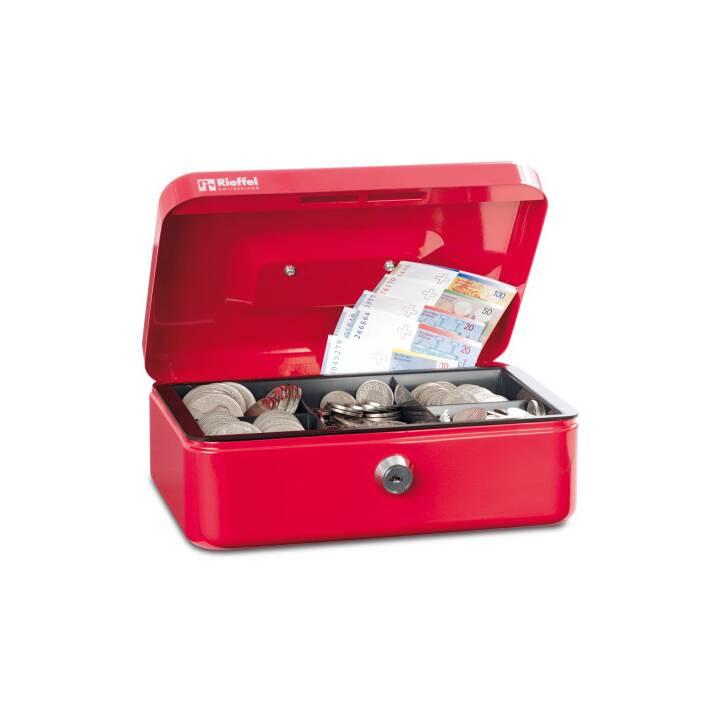 RIEFFEL Cassetta dei contanti Valorit rosso