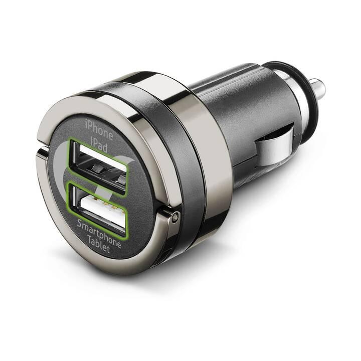 CELLULAR LINE Chargeur auto Dual Plus
