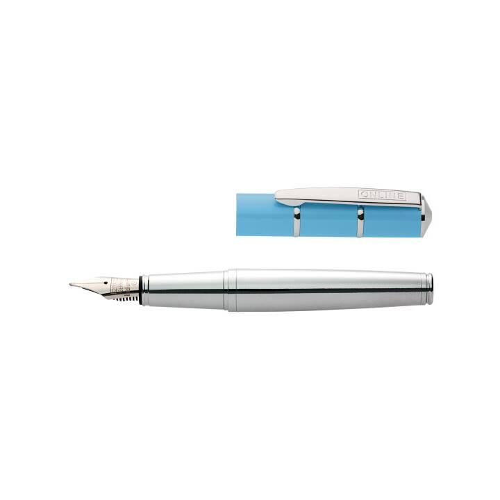 ONLINE Piccolo Penne stilografice (Blu, Argento)