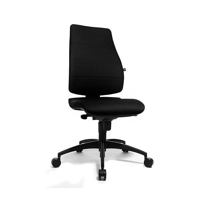 TOPSTAR Bürostuhl (Schwarz, Graphite Black)