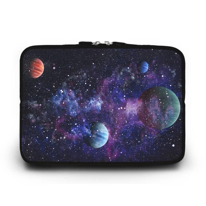 """EG HUADO Housse d'ordinateur portable pour 13"""" - Univers"""