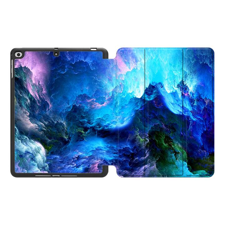 """EG MTT Coque pour Apple iPad Air 2 2016 9.7"""" - Bleu"""