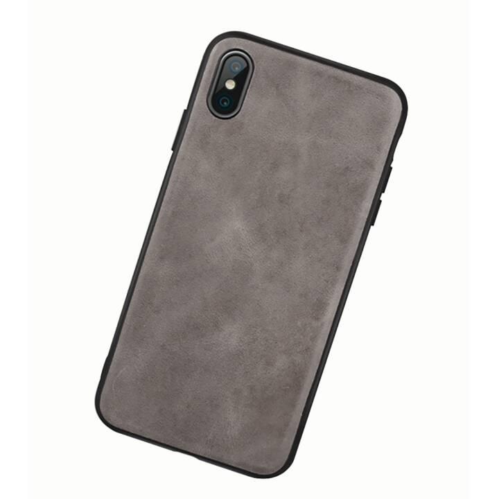 EG Jisoncase Backcover per Apple iPhone XS MAX - Grigio