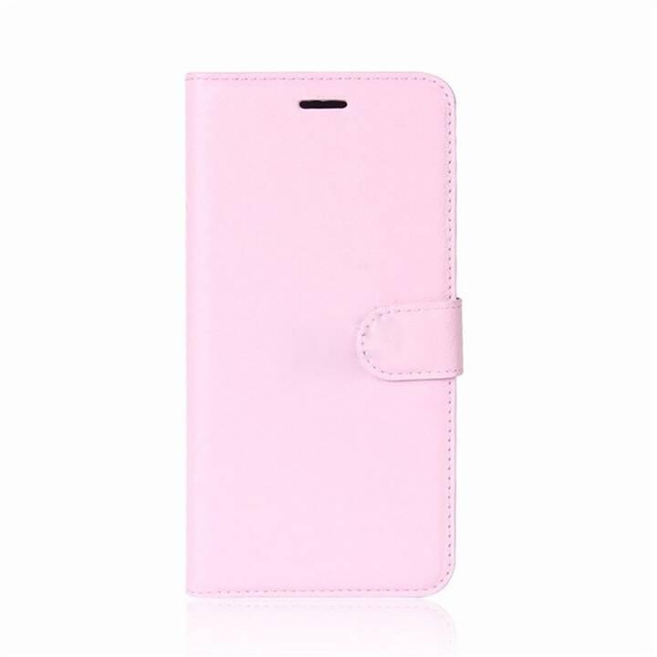 EG Mornrise Custodia a portafoglio per Samsung Galaxy A6 2018 - rosa