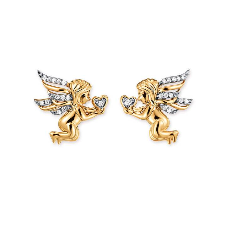 GOLD SPIRIT Princess Clous d'oreilles (Diamant)