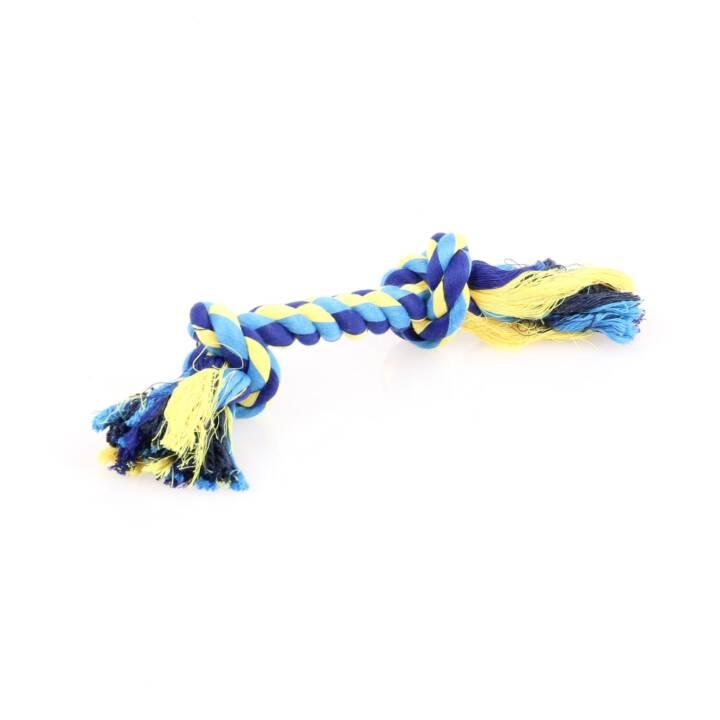 SWISSPET Câbles et Cordes Dental-Seil mit 2 Knoten (42 cm)