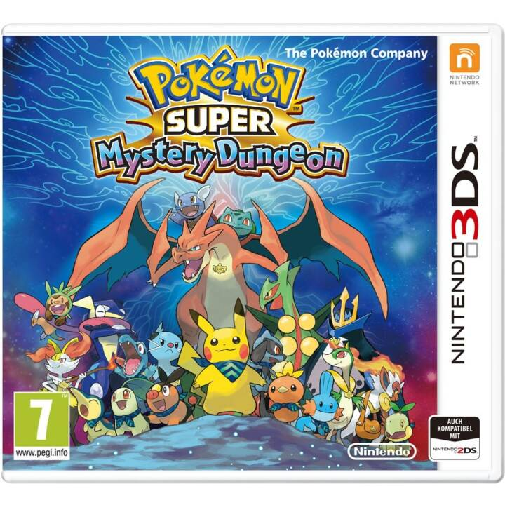 Pokemon Super Mystery Dungeon (DE)