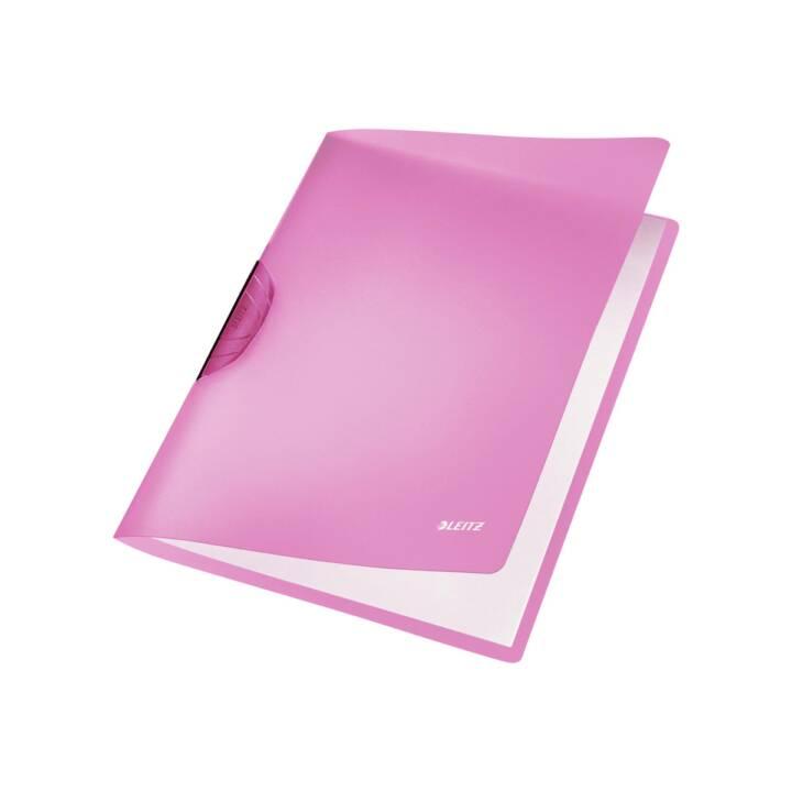 Chemise à clip LEITZ Color Clip Rainbow A4 violet