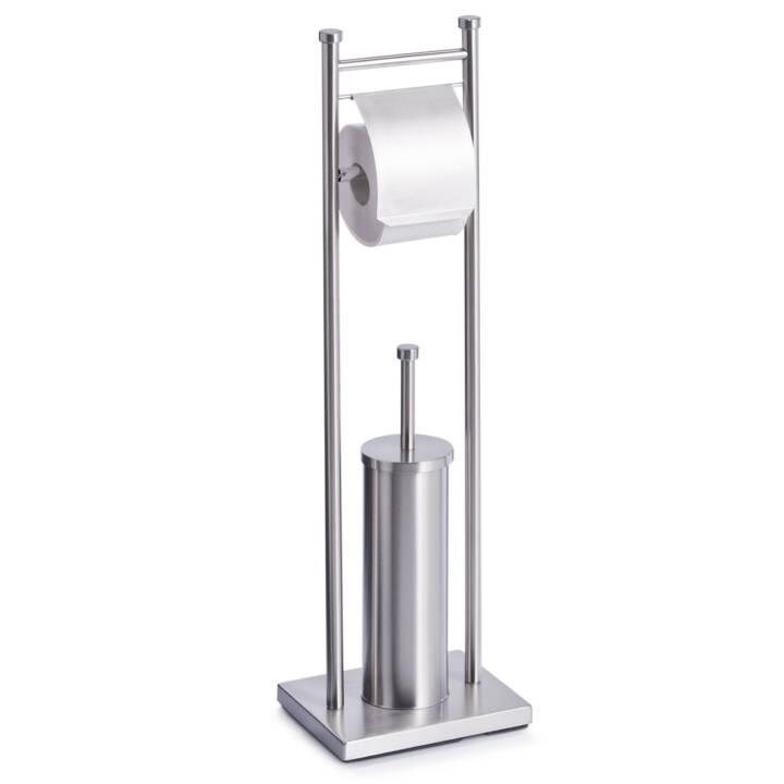 ZELLER PRESENT Set da toilette (Acciaio inox)