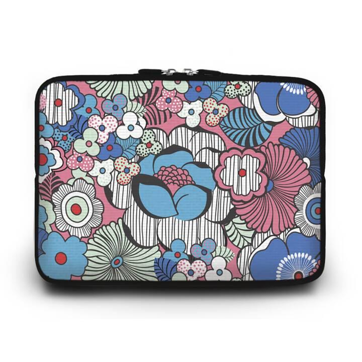 """EG HUADO Housse d'ordinateur portable pour 11"""" - Fleur"""