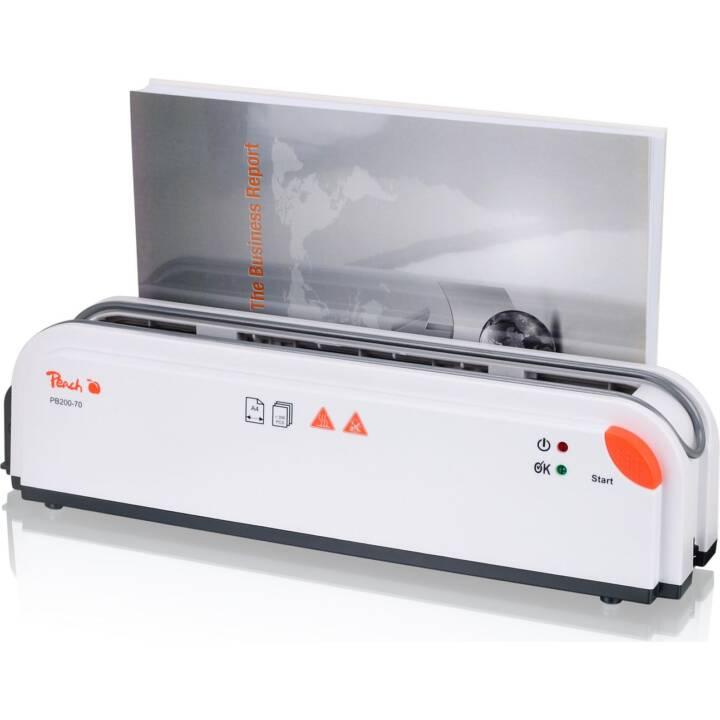 Macchina rilegatrice termica PEACH PB200-70, 300 pagine