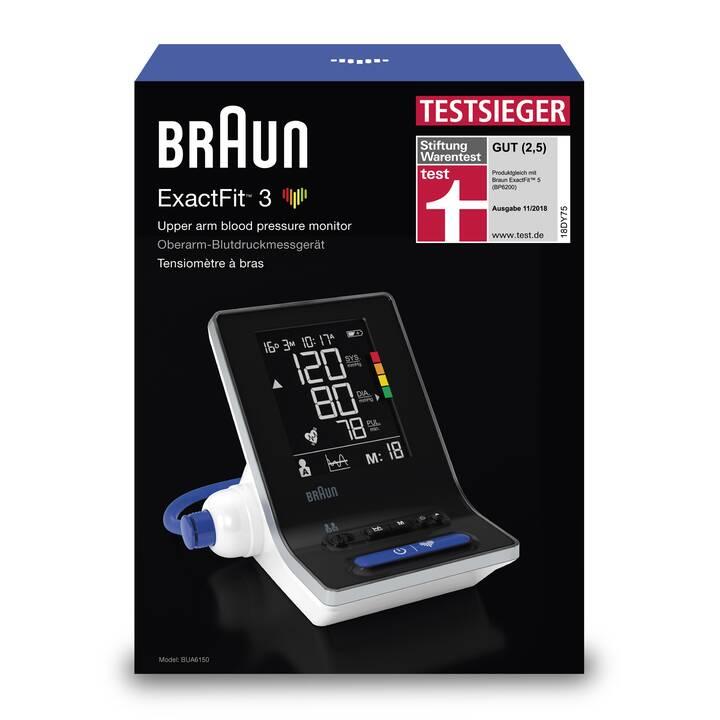 BRAUN Blutdruckmessgerät ExactFit 3 BUA 6150 (Oberarm)