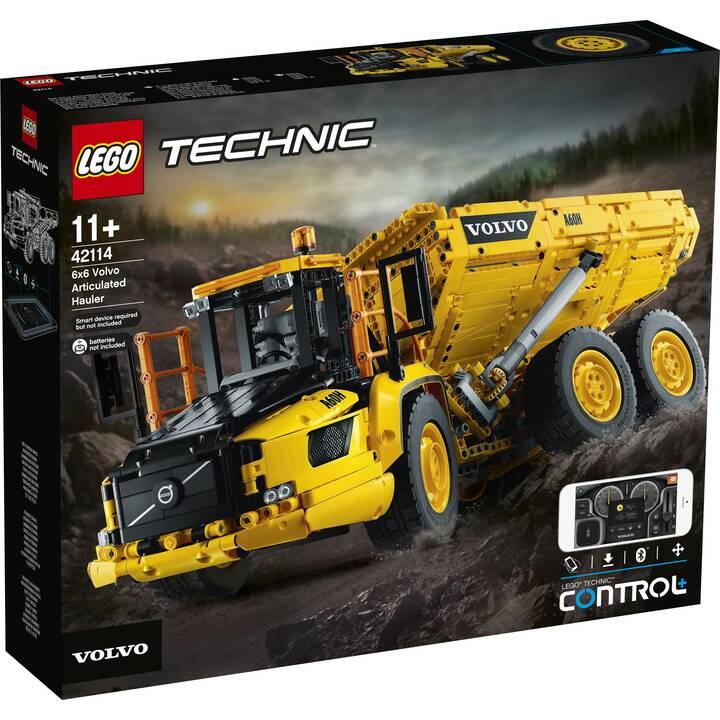 LEGO Technic Le tombereau articulé Volvo 6x6 (42114)