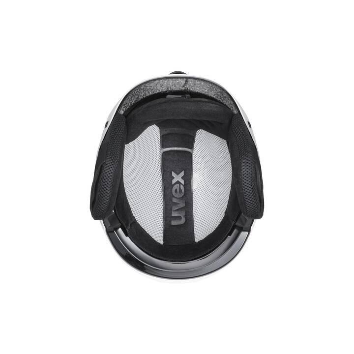 UVEX Casque de ski Legend (S, Blanc, Noir)
