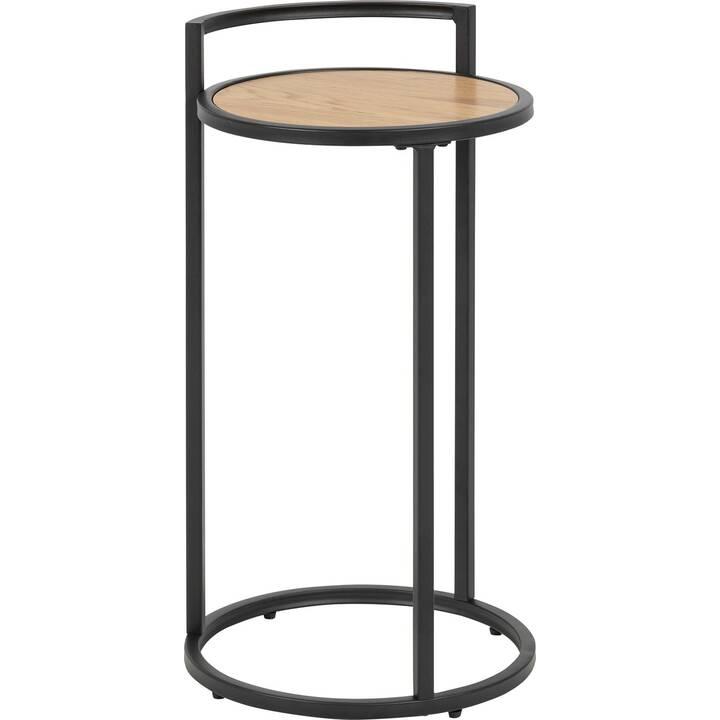 CREATIVE LIVING Petite table Multiple Bronx (65 cm, Noir, Brun)