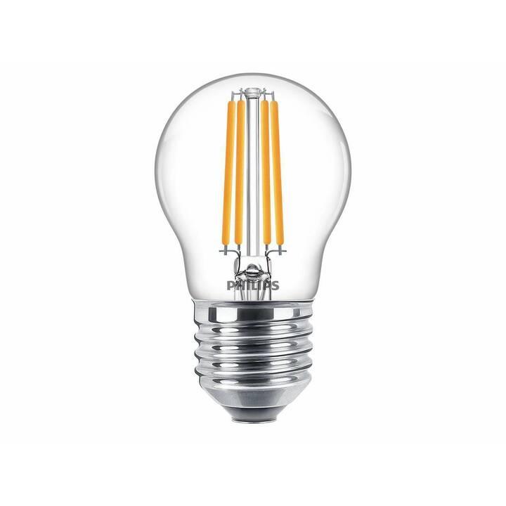 PHILIPS CLA P45 827 CL Lampe (LED, E27, 6.5 W)