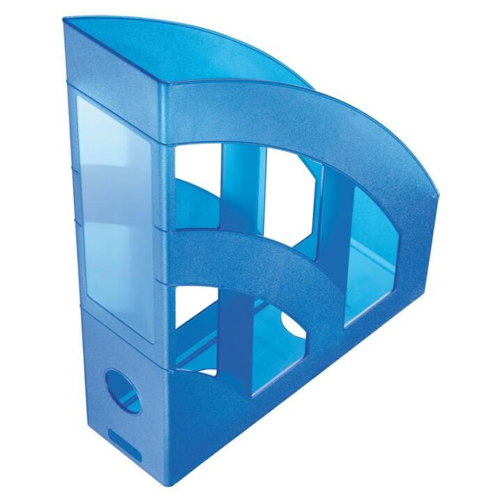 "HELIT ""la torre"" Portariviste DIN A4 - C4, blu"