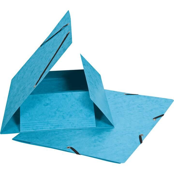 BIELLA Cartellina con elastico (Blu, A4, 1 pezzo)
