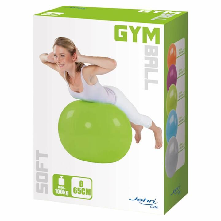 JOHN Gymnastikball Soft, ø 65 cm grün
