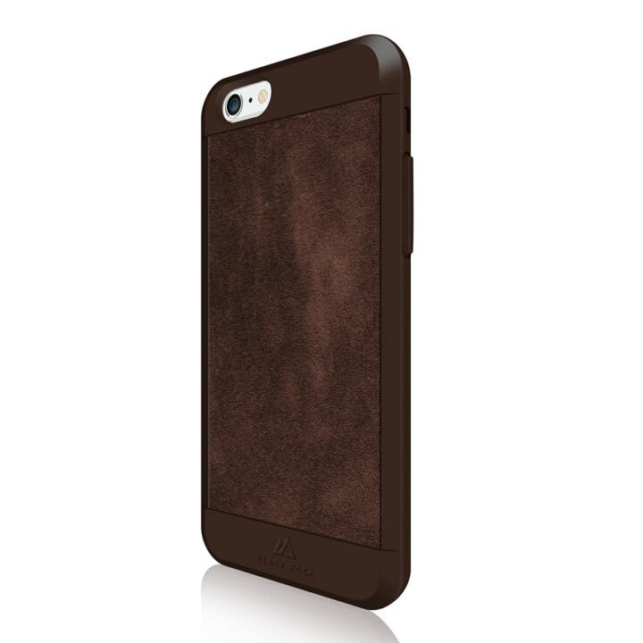 BLACK ROCK Backcover Suede (iPhone 6, iPhone 6s, Marrone)