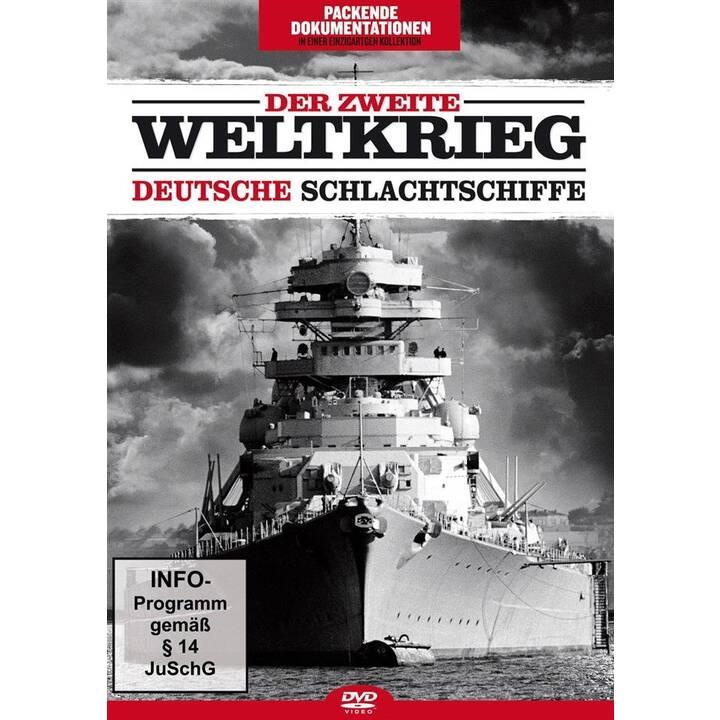 Der zweite Weltkrieg - Deutsche Schlachtschiffe (DE)