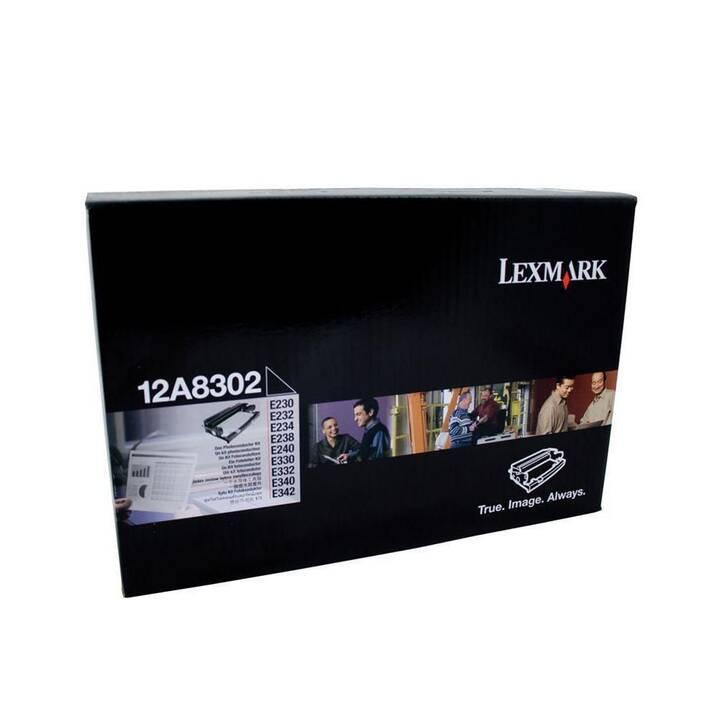 LEXMARK 12A8302 (Einzeltoner, Schwarz)