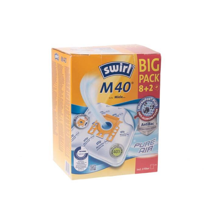 Swirl Staubfilterbeutel M40 Big Pack (8+