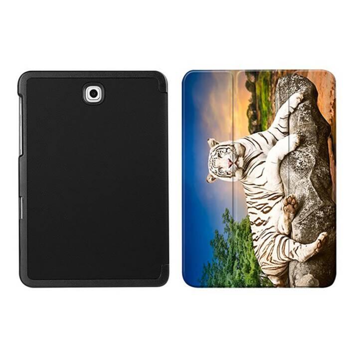 "EG MTT Housse tablette pour Samsung Galaxy Tab S2 8"" - Tiger"