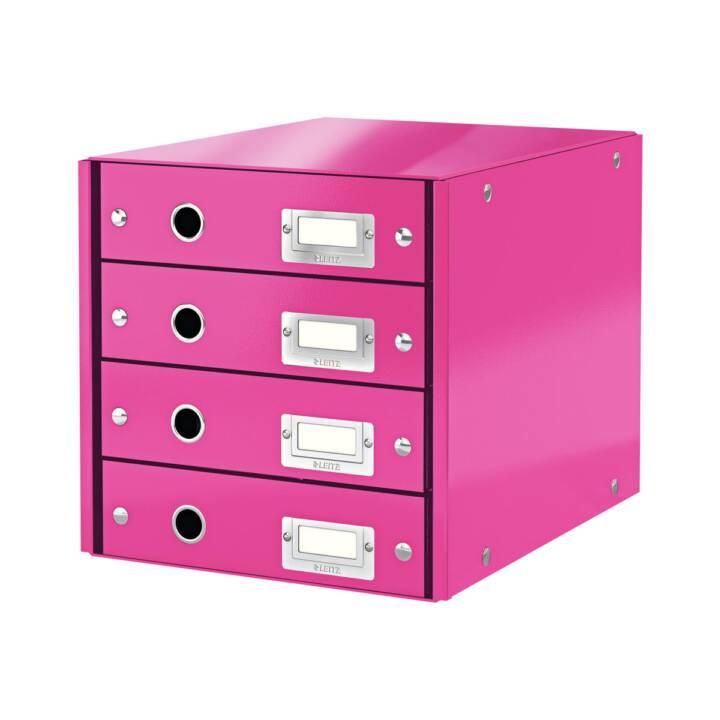 LEITZ Click & Store Ablagebox (A4, Rosa)