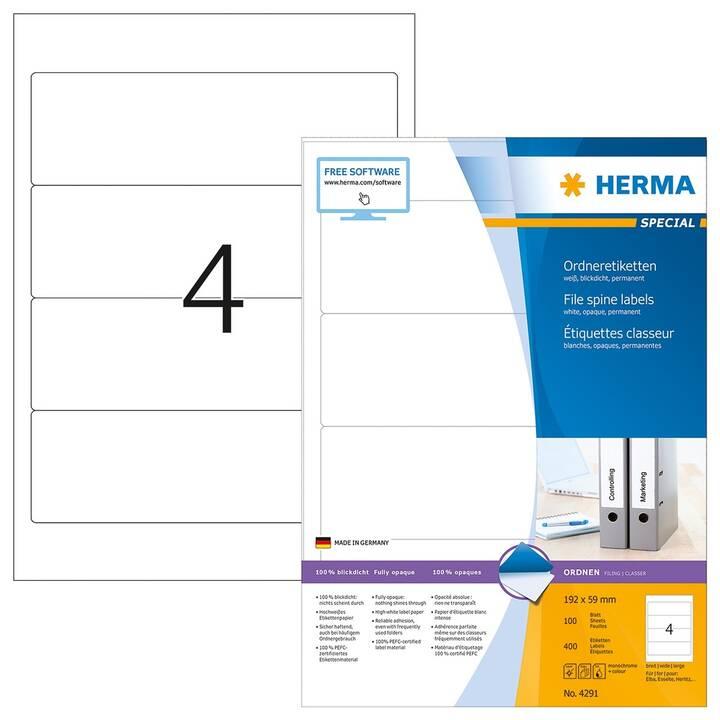 HERMA Ettiquettes (100 feuille, A4)