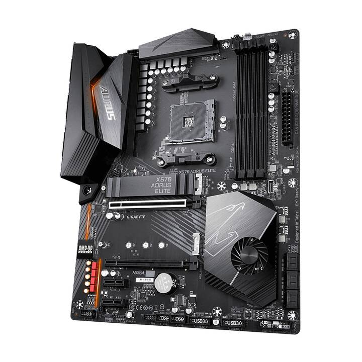 GIGA-BYTE X570 Aorus Elite (AM4, AMD X570, ATX)
